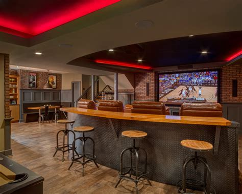 sports bar basement design ideas pictures remodel and decor