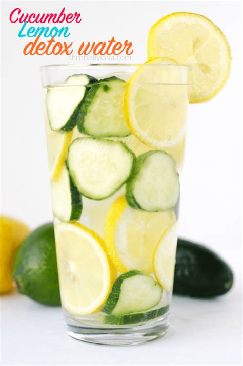 Detox With Lemon Juice And Water by Cucumber Lemon Detox Water