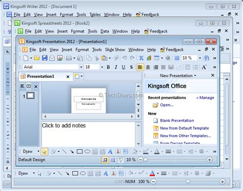 Microsoft Office 2012 by Kingsoft Office Suite Free 2012 Techdows
