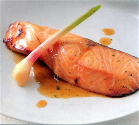 Salmon Nara Top aromatic baked salmon bento