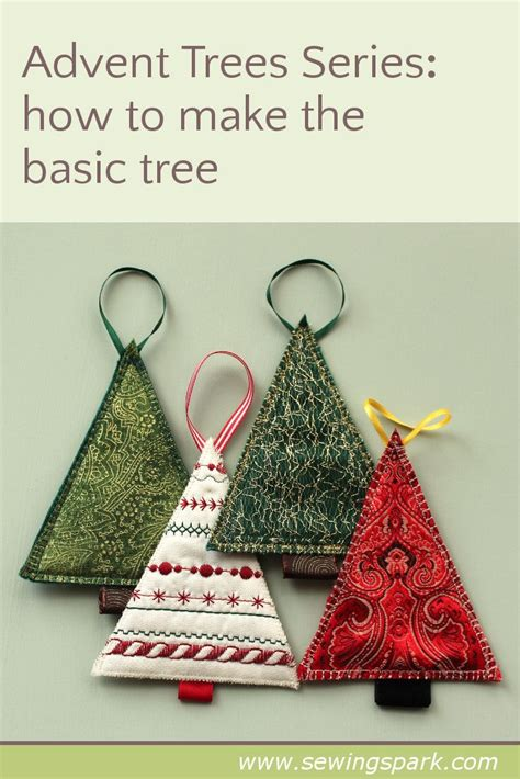1000 Ideas About Sewn Christmas Ornaments On Pinterest Ornaments Quilted Christmas Ornaments Tree Template For Sewing