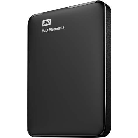 Harddisk Wd 2tb Wd 2tb Elements Portable Drive Wdbu6y0020bbk Nesn B H