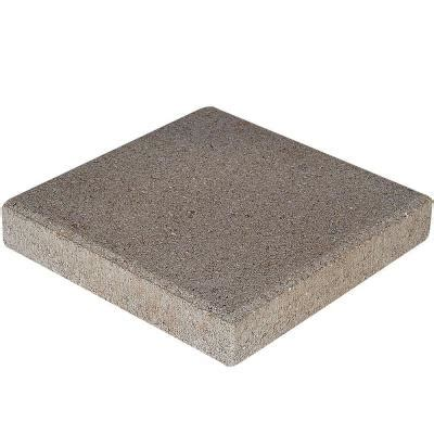 12x12 Patio Pavers Home Depot 12 In X 12 In Pewter Concrete Step 71200 The Home Depot