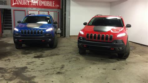 firecracker red jeep cherokee 2017 jeep cherokee new colors firecracker red hydro