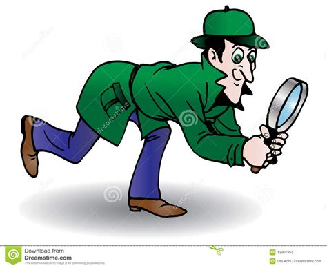 Detective Search Detective Search Royalty Free Stock Photo Image 12901955