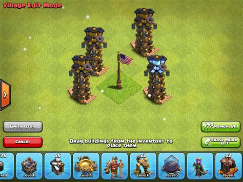 Clash Of Clans Tesla Tower Clash Of Clans Teslas Stats Levels Tips