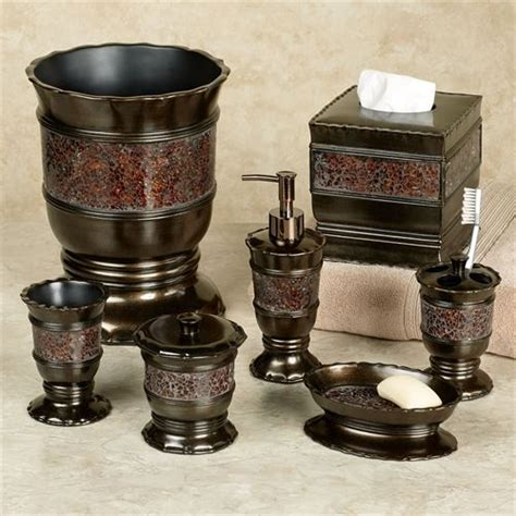 bronze bathroom accessories set prescott bronze bath accessories