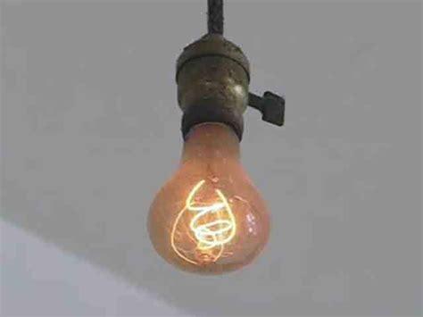 Oldest Light Bulb by 107 Year Light Bulb Still Burns