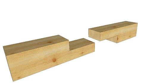 simple  lap joint roofing options japanese joinery