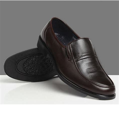 business loafers buy mens business formal shoes artificial leather casual