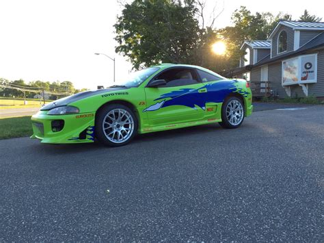 old mitsubishi eclipse replica of the mitsubishi eclipse paul walker drove in the
