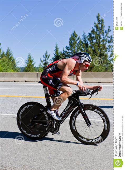 ben hoffman coeur alene ironman cycling event