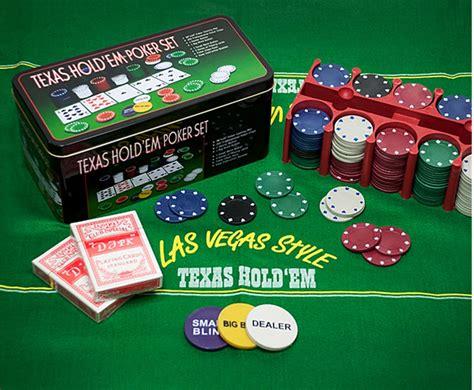 Home Decor Game by Texas Hold Em Poker Set