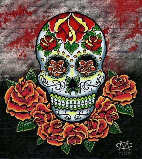 design is dead el dia de los muertos by green jet on deviantart