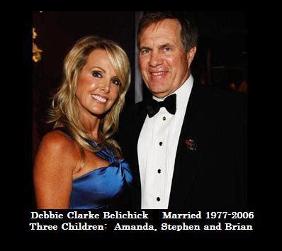 debby clarke belichick debby clarke bill debby clarke belichick ex wife