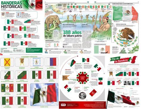 imagenes de las banderas historicas de mexico fabulosos dise 241 os llamativos para ense 241 ar y aprender la