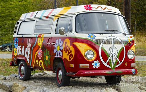 volkswagen hippie name 1960s vw hippie canvas print canvas by michael