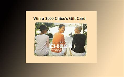 Chico S Gift Card - united states sweepstakes directory part 89