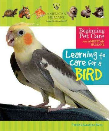 learning to care for a bird felicia lowenstein niven