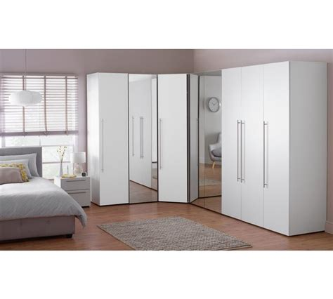 White Corner Unit Bedroom Furniture Buy Hygena Atlas Corner Unit White At Argos Co Uk Your Shop For Wardrobes Bedroom