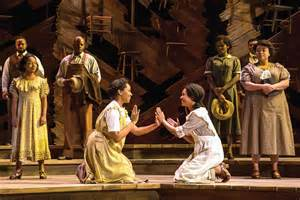 the color purple review theater review the color purple at the kennedy center