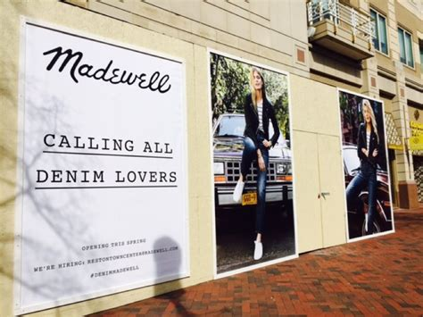 Store Openings Madewell 1937 by Reston Town Center S Newest Store Holding April 26 Grand