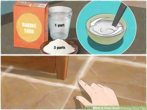 How To Clean White Bathroom Tiles by 4 Ways To Clean Grout Between Floor Tiles Wikihow