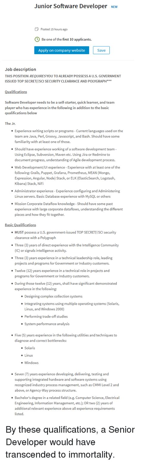 Resume Meme by Data Analyst Description Resume 7 Languages Meme Great