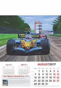 San Marino Kalendar 2018 Automobile Kitson Andrew Grand Prix Formula 1