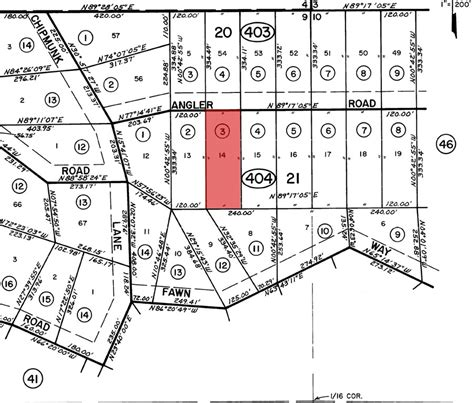 land layout maps 99 per month to own an acre of northern california land