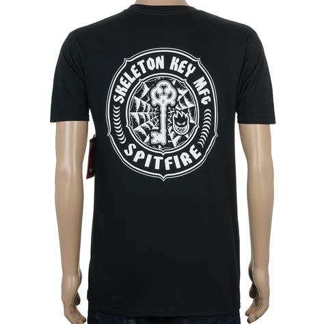 T Shirt Skeleton Key 6snx spitfire wheels x skeleton key mfg at skate pharm