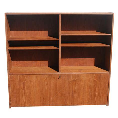 desk bookshelves 54 quot soberg mobler teak bookcase desk ebay