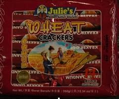 Biskuit Mentega Julie S Butter Crackers laman pendidikan melamine lagi orders all malaysia made julie s brand biscuits taken