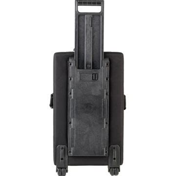 skb 1skb scpm2 large rolling soft case for powered mixers