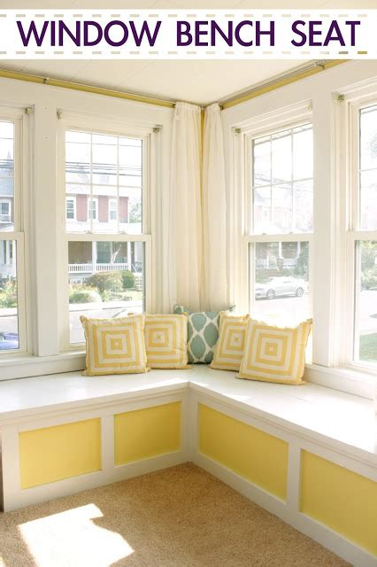 window seat bench ideas build a window bench seat part of a family room makeover
