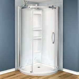 maax olympia 36 in x 36 in x 78 in shower stall in