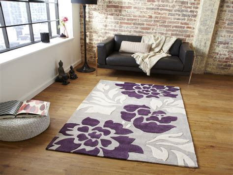 multi textured soft rug modern design hand tufted floor