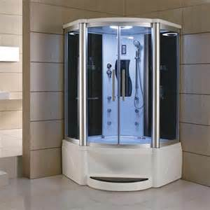 eagle bath corner steam shower with whirlpool bathtub