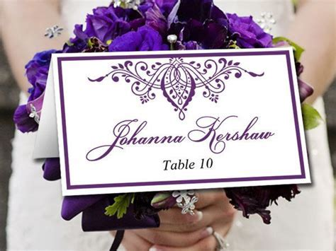 17 Best ideas about Printable Wedding Place Cards on