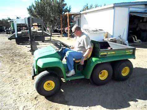 john deere 6x4 gator utility vehicle youtube