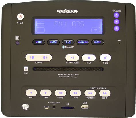 genesis technologies gt 2 0 dvd receiver for rvs at