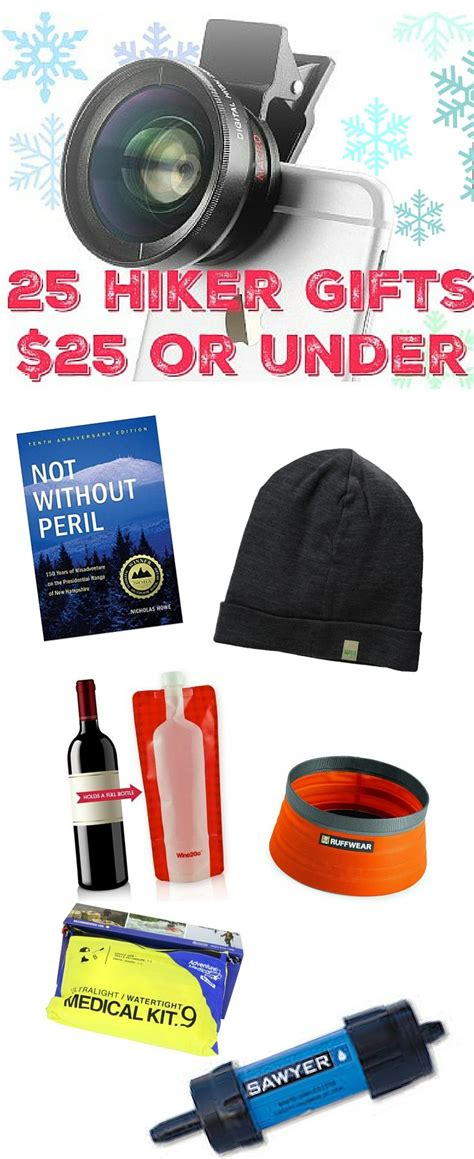 great gift ideas for hikers all 25 or less