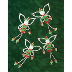 holiday beaded ornament kit 245796 create and craft