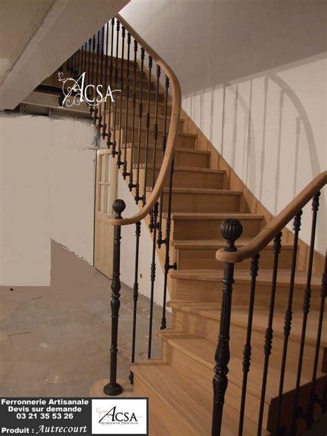escalier bois avec re fer forge 28 images entreprise de construction de maison 224 ossature