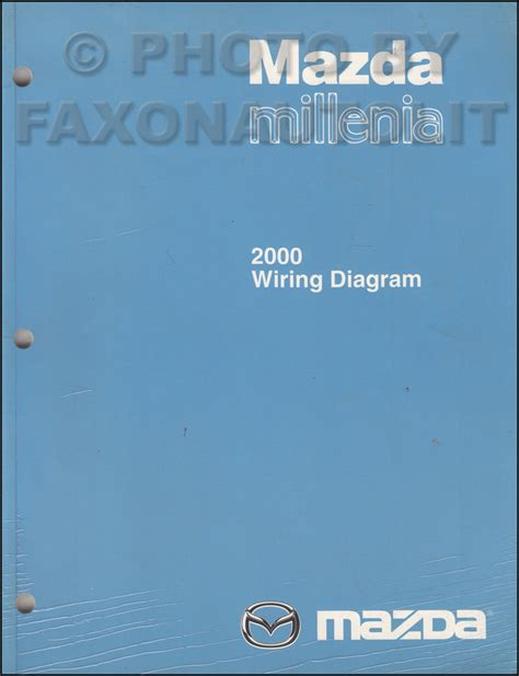 car repair manual download 2000 mazda millenia engine control 2000 mazda millenia repair shop manual original