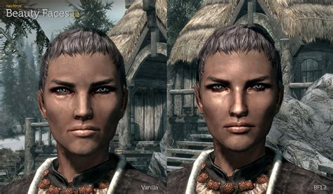 skyrim human hair styles красивые лица у женщин для the elder scrolls v skyrim моды