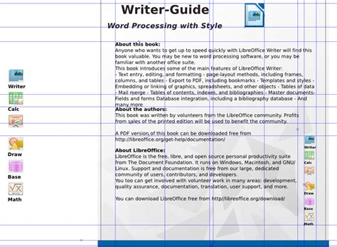 book layout libreoffice libreoffice v4 0 template the document foundation wiki