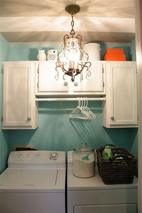 How To Hang Laundry Room Cabinets Install Unfinished Cabinets Above My Washer Dryer And Paint Them A Color I M Doing This