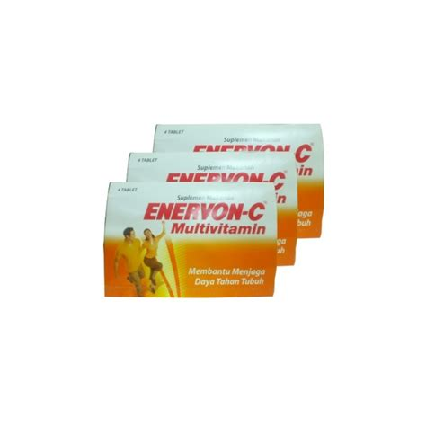 Vitamin Enervon C Tablet Jual Enervon C Vitamin 4 Tablet