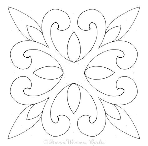 Free Quilt Stencils by Free Stenciling Patterns For Quilting Search